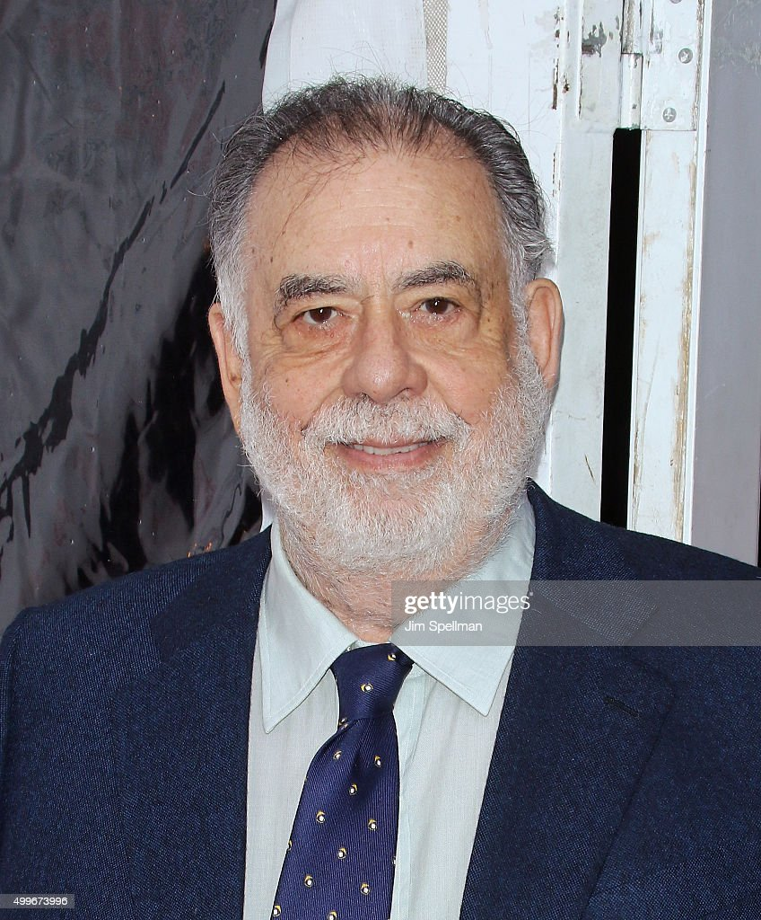 Director <a gi-track='captionPersonalityLinkClicked' href=/galleries/search?phrase=Francis+Ford+Coppola&family=editorial&specificpeople=204241 ng-click='$event.stopPropagation()'>Francis Ford Coppola</a> attends the 'A Very Murray Christmas' New York premiere at Paris Theater on December 2, 2015 in New York City.