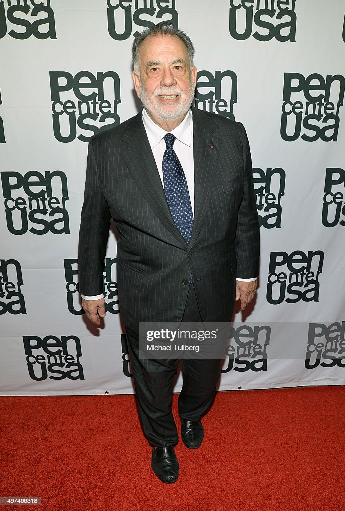 Director <a gi-track='captionPersonalityLinkClicked' href=/galleries/search?phrase=Francis+Ford+Coppola&family=editorial&specificpeople=204241 ng-click='$event.stopPropagation()'>Francis Ford Coppola</a> attends the PEN Center USA's 25th Annual Literary Awards Festival at the Beverly Wilshire Four Seasons Hotel on November 16, 2015 in Beverly Hills, California.