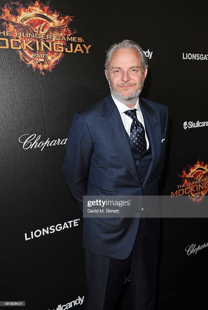 Director Francis Lawrence attends Lionsgate's 'The Hunger Games: Mockingjay Part 1' party at a private villa on May 17, 2014 in Cannes, France.