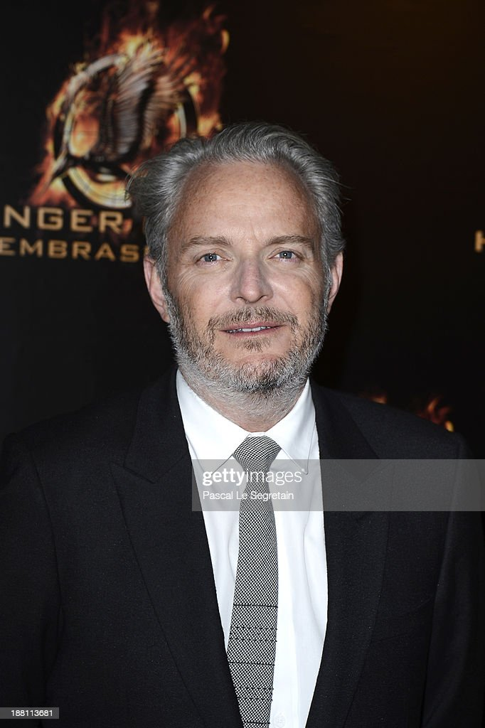 Director <a gi-track='captionPersonalityLinkClicked' href=/galleries/search?phrase=Francis+Lawrence&family=editorial&specificpeople=224820 ng-click='$event.stopPropagation()'>Francis Lawrence</a> attends 'The Hunger Games: Catching Fire' Paris Premiere at Le Grand Rex on November 15, 2013 in Paris, France.