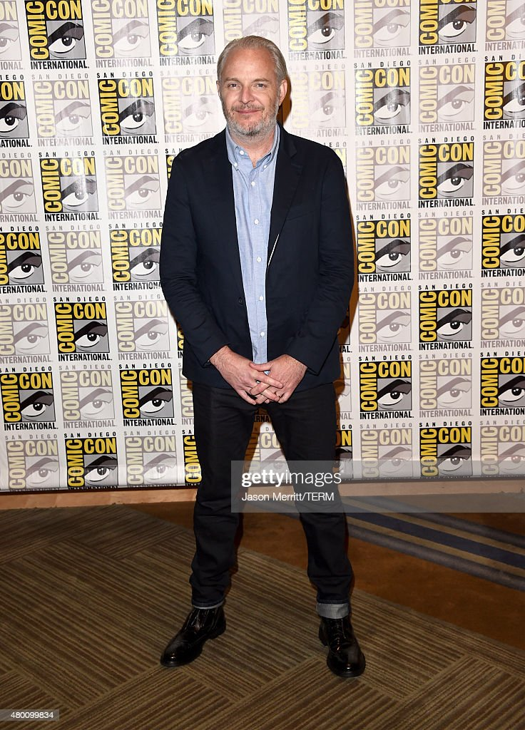 Director Francis Lawrence of 'The Hunger Games: Mockingjay - Part 2' attends the Lionsgate press room during Comic-Con International 2015 at the Hilton Bayfront on July 9, 2015 in San Diego, California.