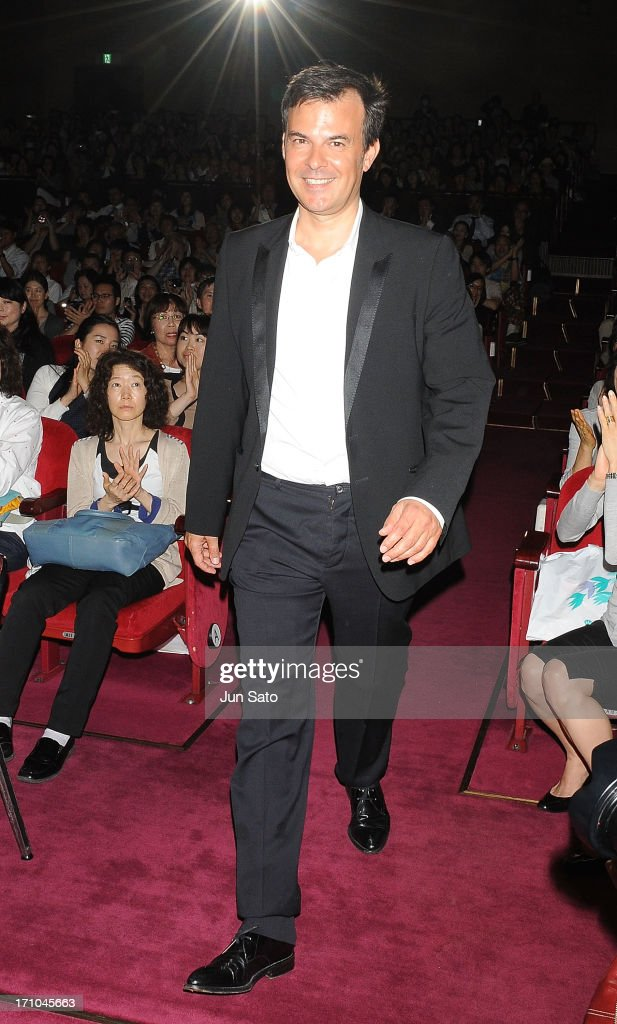 Director Francois Ozon attends the French Film Festival 2013 at Yurakucho Asahi Hall on June 21, 2013 in Tokyo, Japan.