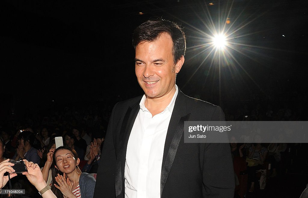 Director <a gi-track='captionPersonalityLinkClicked' href=/galleries/search?phrase=Francois+Ozon&family=editorial&specificpeople=615693 ng-click='$event.stopPropagation()'>Francois Ozon</a> attends the French Film Festival 2013 at Yurakucho Asahi Hall on June 21, 2013 in Tokyo, Japan.