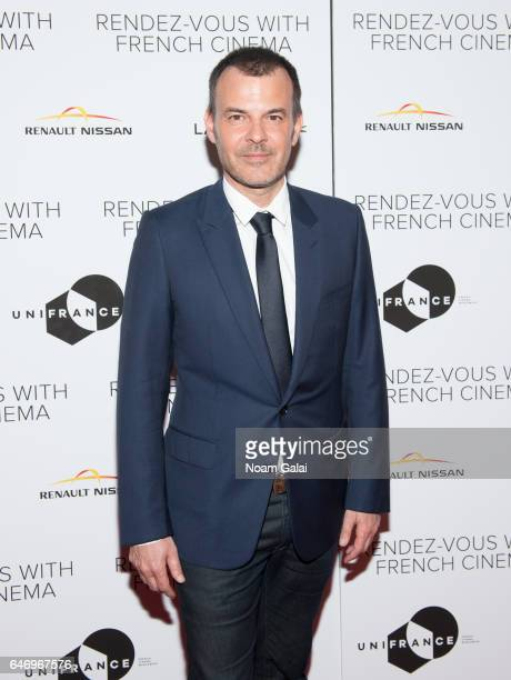 Director Francois Ozon attends the opening night premiere of 'Django' at The Film Society of Lincoln Center Walter Reade Theatre on March 1 2017 in...