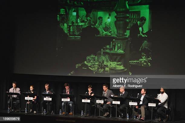 Director Fred Savage actors Mae Whitman Fred Willard Adam Scott Anne Hathaway Jason Bateman Paul Scheer Nick Kroll and Jason Mantzoukas attend a Film...