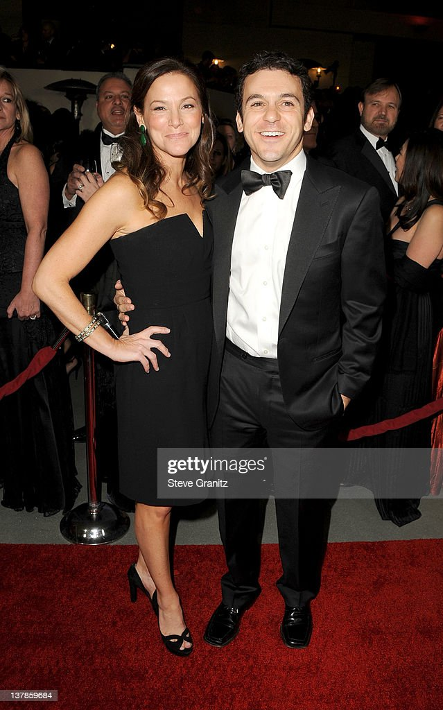 Director Fred Savage and Jennifer Stone Savage arrive at the 64th Annual Directors Guild Of America Awards at the Grand Ballroom at Hollywood...