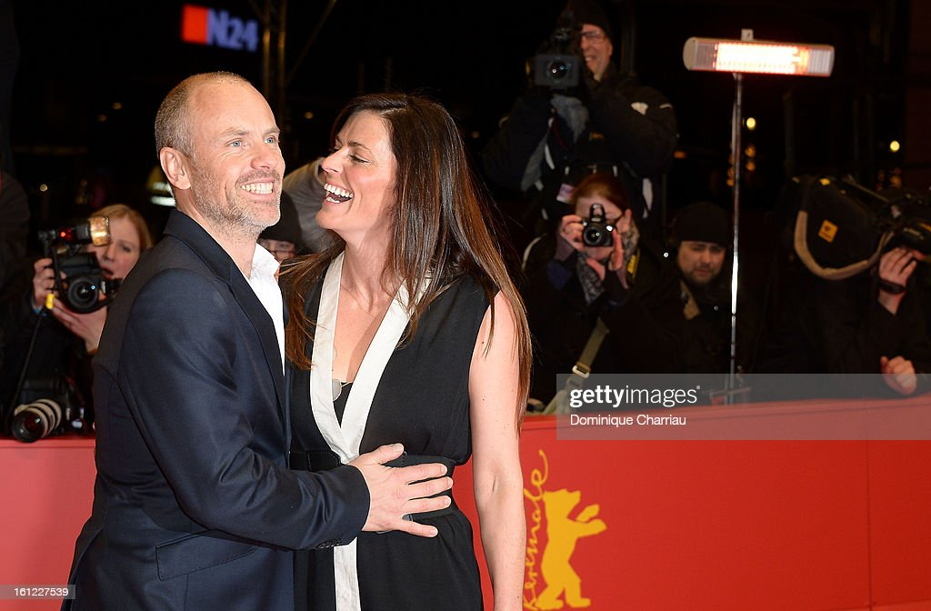 Director Fredrik Bond and partner attend 'The Necessary Death of Charlie Countryman' Premiere during the 63rd Berlinale International Film Festival at the Berlinale Palast on February 9, 2013 in Berlin, Germany.