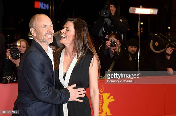 Director Fredrik Bond and partner attend 'The Necessary Death of Charlie Countryman' Premiere during the 63rd Berlinale International Film Festival...