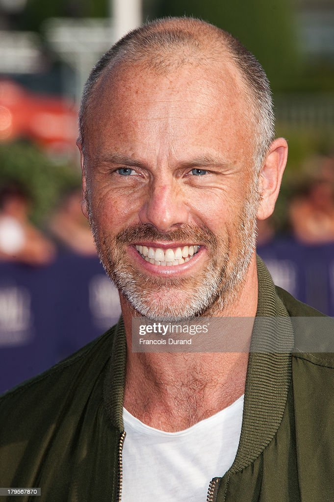 Director Fredrik Bond arrives at the screening of the film 'The Necessary Death Of Charlie Countryman' during the 39th Deauville American Film Festival on September 5, 2013 in Deauville, France.