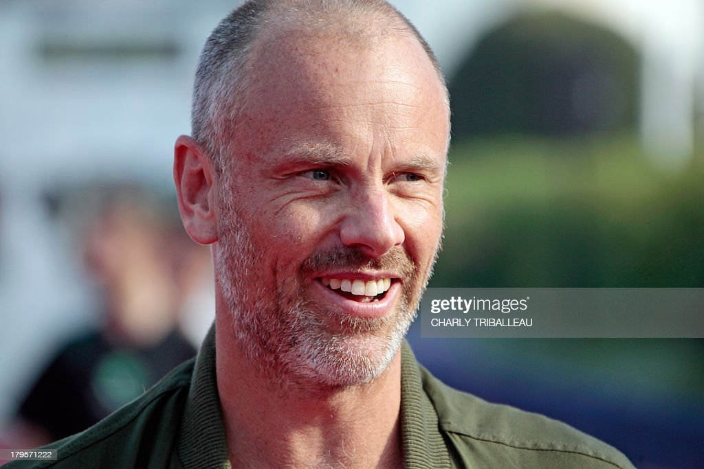 US director Fredrik Bond poses on the red carpet for a photocall before the screening of his film 'The Necessary Death of Charlie Countryman' on September 5, 2013, as part of the Deauville US Film Festival, in the French northwestern sea resort of Deauville.