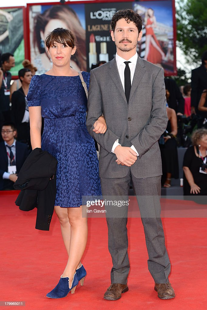 Director Gabe Klinger (R) and Aurelie Dard attend the Closing Ceremony during the 70th Venice International Film Festival at the Palazzo del Cinema on September 7, 2013 in Venice, Italy.