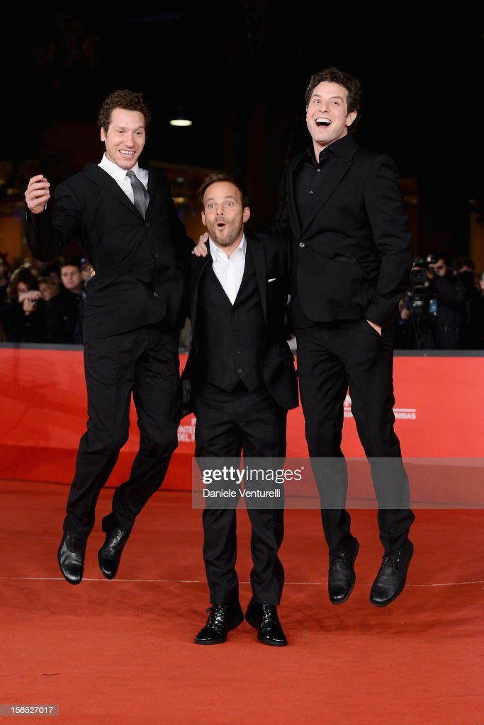 Director Gabe Polsky, actor Stephen Dorff and director Alan Polsky attend 'The Motel Life' Premiere during the 7th Rome Film Festival at the Auditorium Parco Della Musica on November 16, 2012 in Rome, Italy.