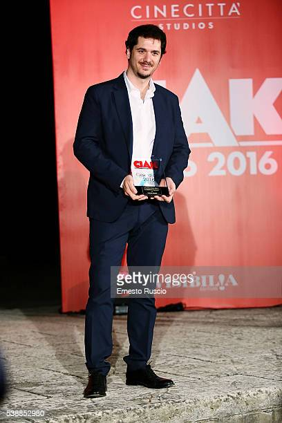 Director Gabriele Mainetti attends the Ciak D'Oro 2016 awards at Cinecitta on June 8 2016 in Rome Italy