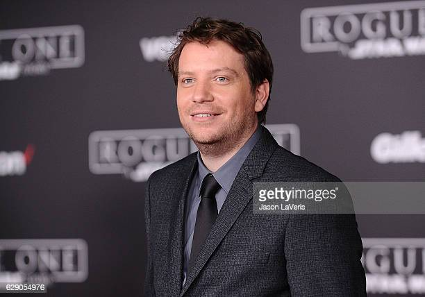 Director Gareth Edwards attends the premiere of 'Rogue One A Star Wars Story' at the Pantages Theatre on December 10 2016 in Hollywood California