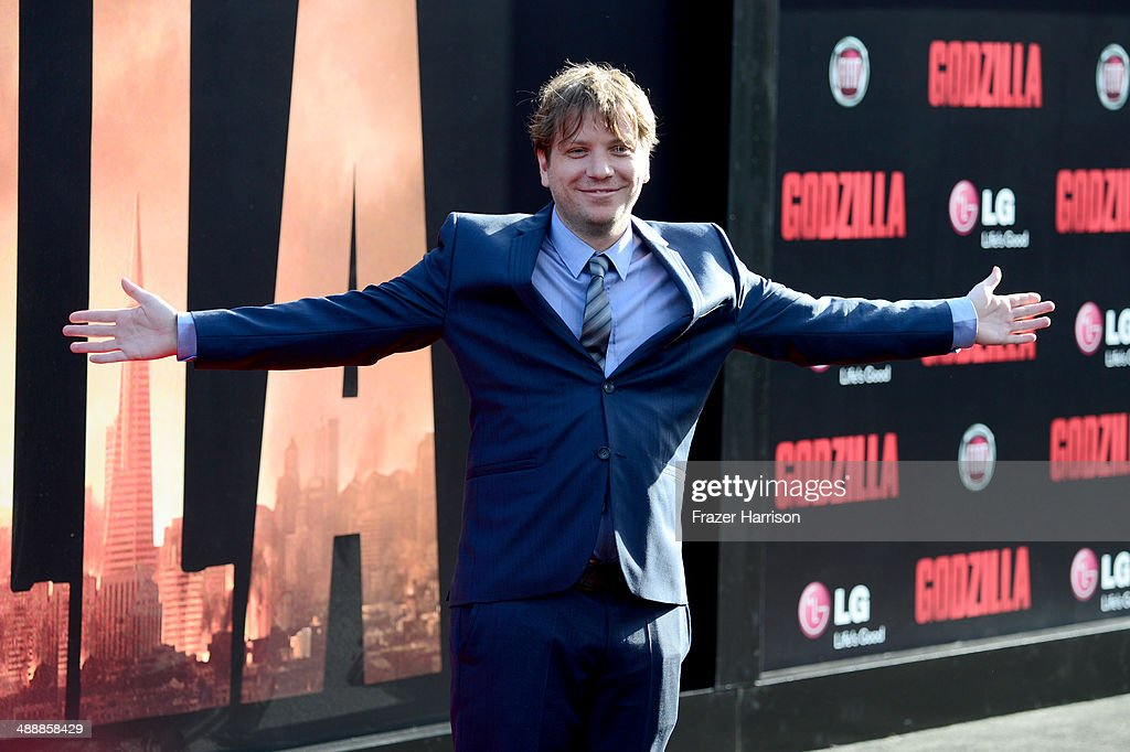 Director Gareth Edwards attends the premiere of Warner Bros. Pictures and Legendary Pictures' 'Godzilla' at Dolby Theatre on May 8, 2014 in Hollywood, California.