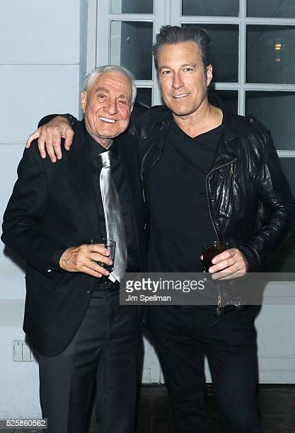 Director Garry Marshall and actor John Corbett attend the after party for the screening of Open Road Films' 'Mother's Day' hosted by The Cinema...