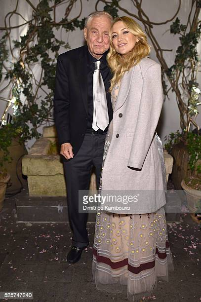 Director Garry Marshall and actress Kate Hudson attend The Cinema Society With Lands' End screening of Open Road Films' 'Mother's Day' after party at...
