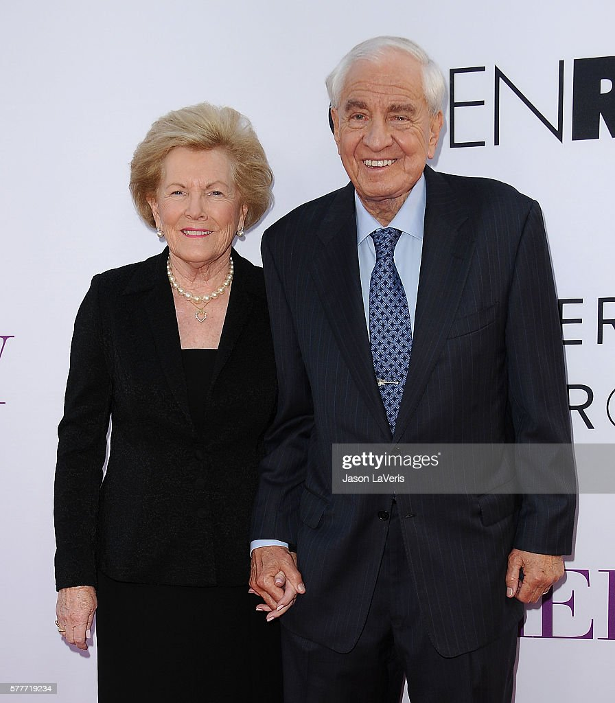 Director Garry Marshall and wife Barbara Marshall attend the premiere of 'Mother's Day' at TCL Chinese Theatre IMAX on April 13, 2016 in Hollywood, California.