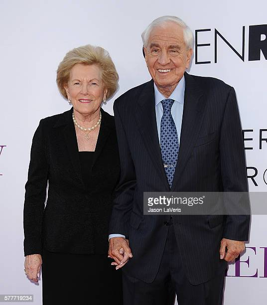 Director Garry Marshall and wife Barbara Marshall attend the premiere of 'Mother's Day' at TCL Chinese Theatre IMAX on April 13 2016 in Hollywood...