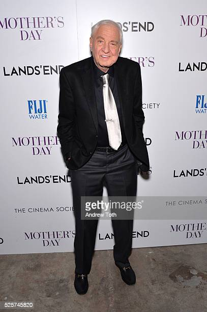Director Garry Marshall attends The Cinema Society with Lands' End host a screening of Open Road Films' 'Mother's Day' on April 28 2016 in New York...