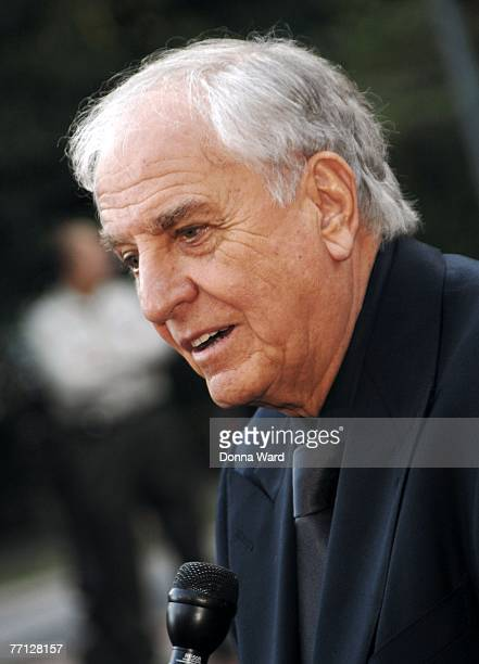 Director Garry Marshall attends the debut performance of 'Happy Days' at The Paper Mill Playhouse on September 30 2007 in Millburn New Jersey