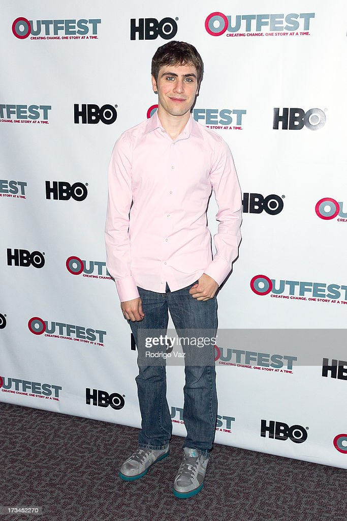 Director Gary Entin arrives at the 2013 Outfest Film Festival - 'Geography Club' screening at Directors Guild Of America on July 14, 2013 in Los Angeles, California.