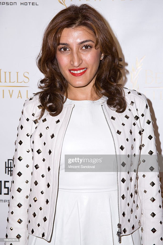 Director Gauri Chadha attends the 13th Annual Beverly Hills Film Festival opening night gala at TCL Chinese Theatre on May 8, 2013 in Hollywood, California.