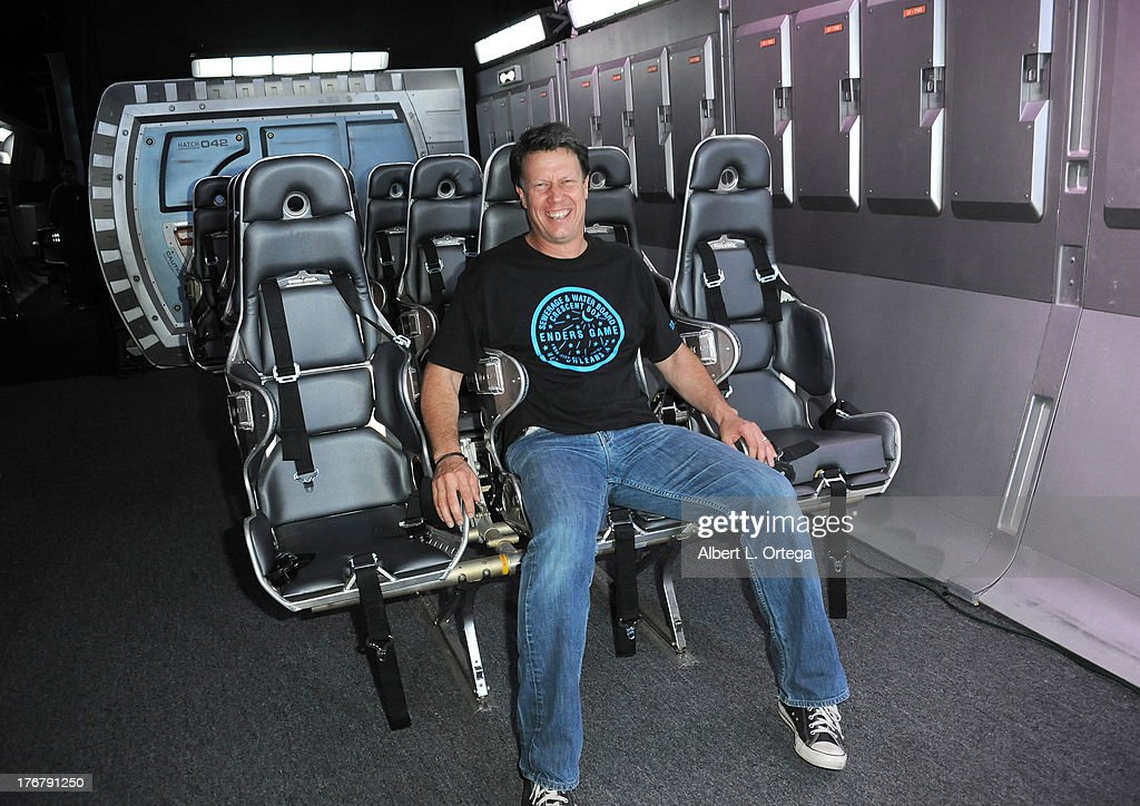 Director Gavin Hood attend the 'Ender's Game' Experience Press Preview Night held at Martin Luther King Jr. Park on Wenesday July 17, 2012 in San Diego, California.
