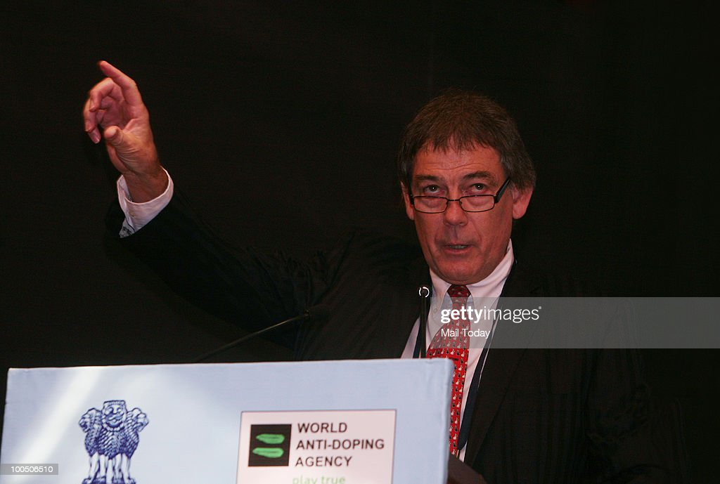 WADA(World Anti-Doping Agency) Director General David Howman during the 7th Asia / Oceania Region Inter-governmental meeting on anti-doping in sport, in New Delhi on May 24, 2010.
