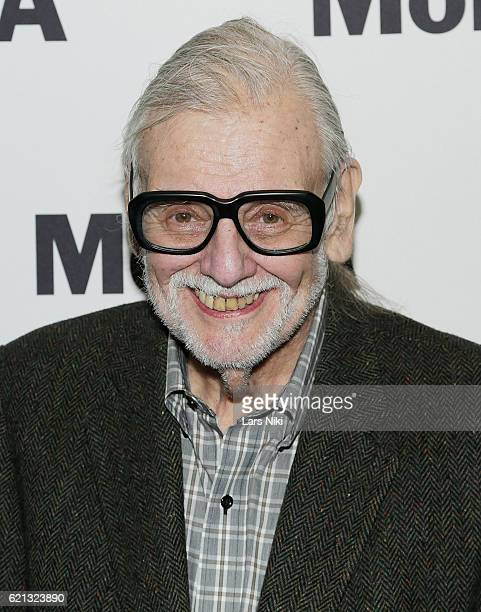 Director George A Romero attends the Night of the Living Dead World Premiere of Restored Print during the To Save and Project The 14th MOMA...