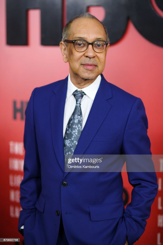 Director George C. Wolfe attends 'The Immortal Life of Henrietta Lacks' premiere at SVA Theater on April 18, 2017 in New York City.