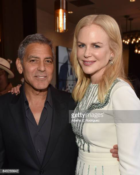 Director George Clooney and actress Nicole Kidman attend Entertainment Weekly's Must List Party during the Toronto International Film Festival 2017...