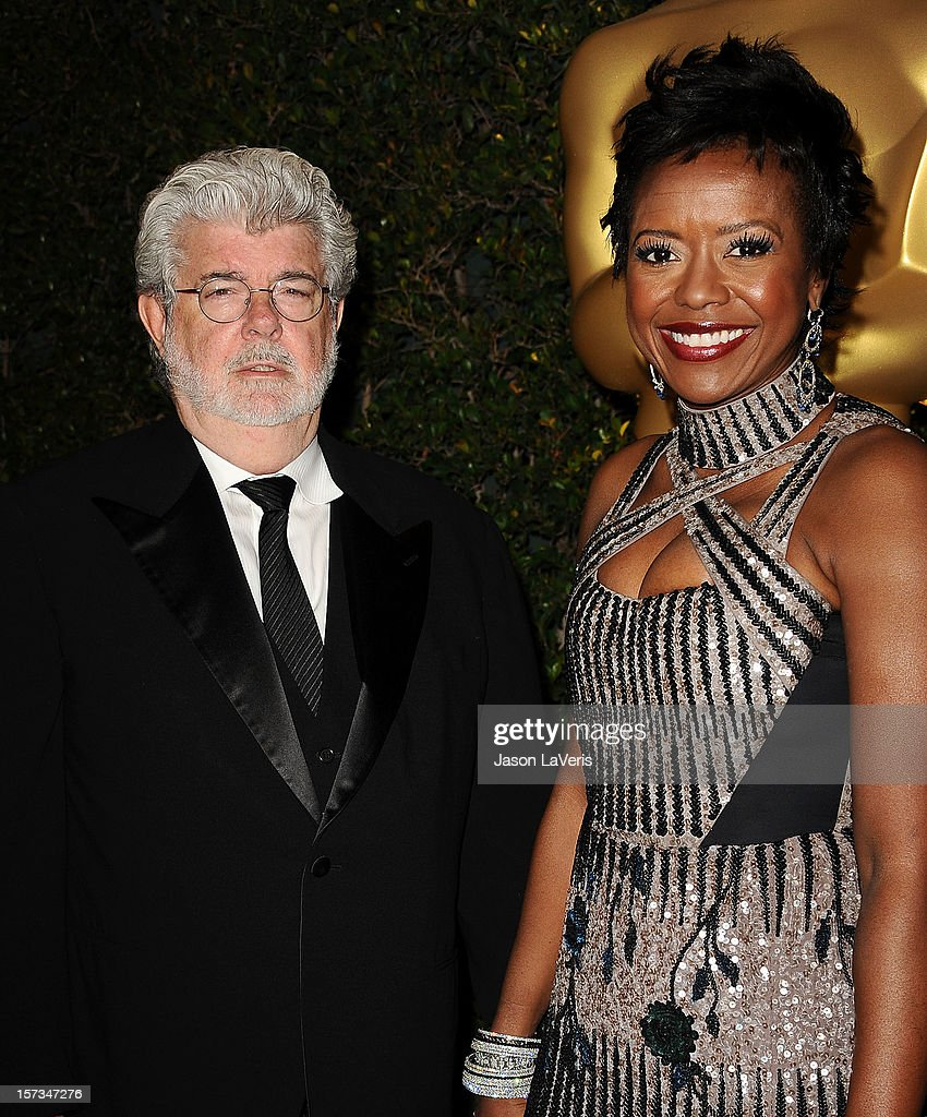 Director George Lucas and wife Mellody Hobson attend the Academy of Motion Pictures Arts and Sciences' 4th annual Governors Awards at The Ray Dolby Ballroom at Hollywood & Highland Center on December 1, 2012 in Hollywood, California.