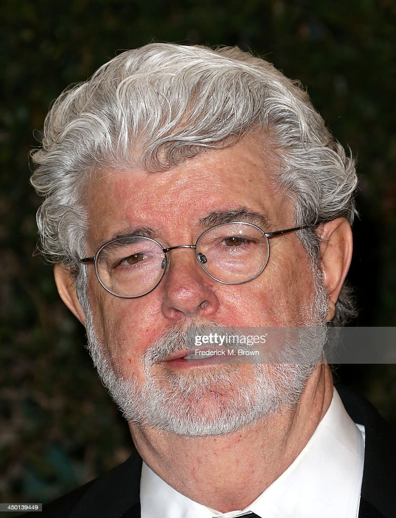 Director <a gi-track='captionPersonalityLinkClicked' href=/galleries/search?phrase=George+Lucas&family=editorial&specificpeople=202500 ng-click='$event.stopPropagation()'>George Lucas</a> arrives at the Academy of Motion Picture Arts and Sciences' Governors Awards at The Ray Dolby Ballroom at Hollywood & Highland Center on November 16, 2013 in Hollywood, California.