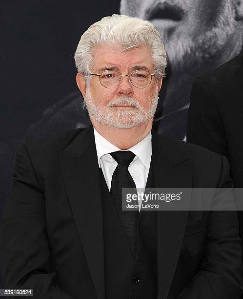 Director George Lucas attends the 44th AFI Life Achievement Awards gala tribute at Dolby Theatre on June 9 2016 in Hollywood California