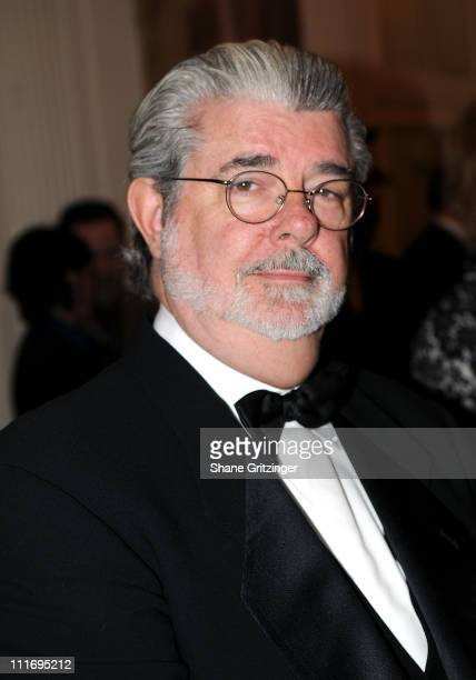 Director George Lucas attends the Jackie Robinson Foundation Hosts 35th Anniversary Awards Dinner on March 03 2008 in New York City