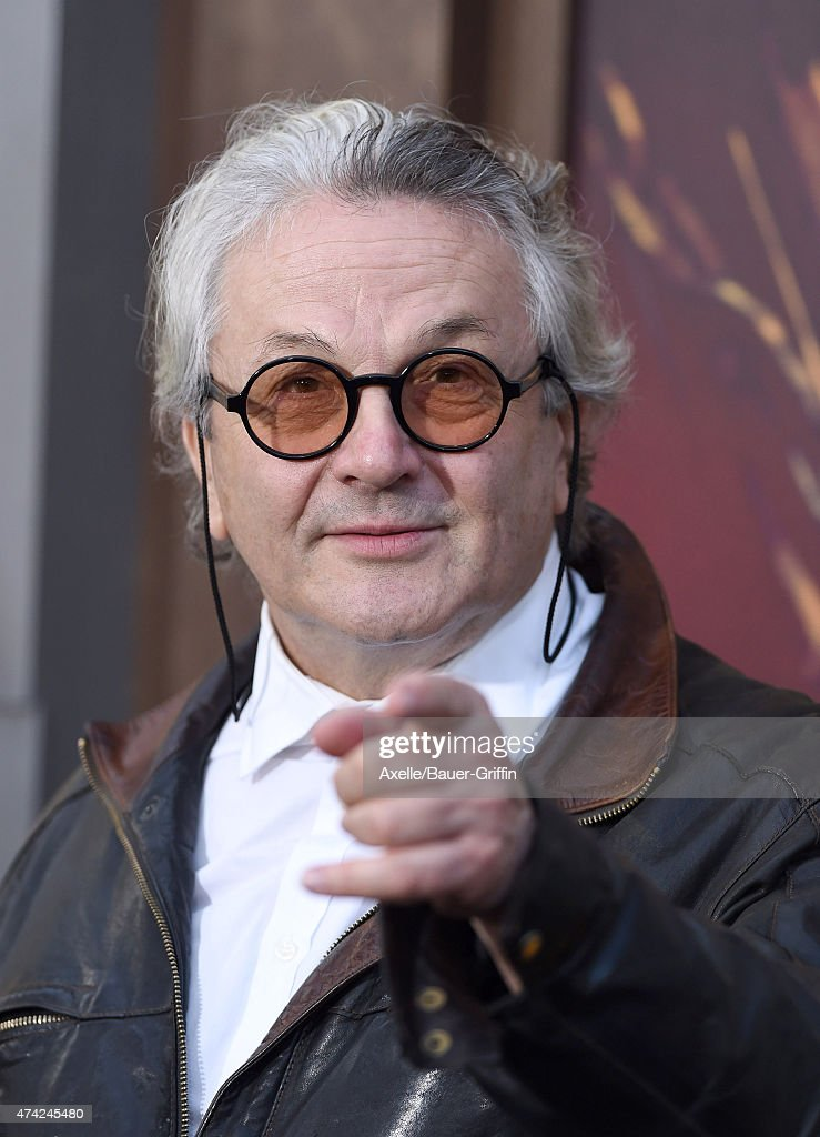 Director George Miller arrives at the Los Angeles premiere of 'Mad Max: Fury Road' at TCL Chinese Theatre IMAX on May 7, 2015 in Hollywood, California.