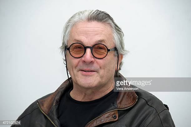Director George Miller at the 'Mad Max Fury Road' Press Conference at Siren Studios on May 2 2015 in Hollywood California