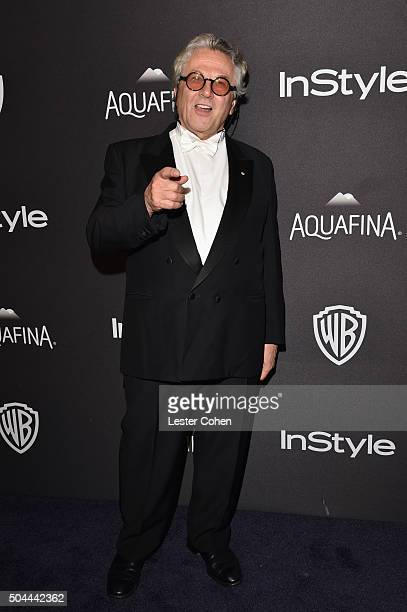 Director George Miller attends InStyle and Warner Bros 73rd Annual Golden Globe Awards PostParty at The Beverly Hilton Hotel on January 10 2016 in...