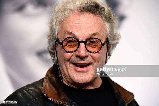 Director George Miller attends the 'Mad Max Fury Road' press Conference during the 68th annual Cannes Film Festival on May 14 2015 in Cannes France