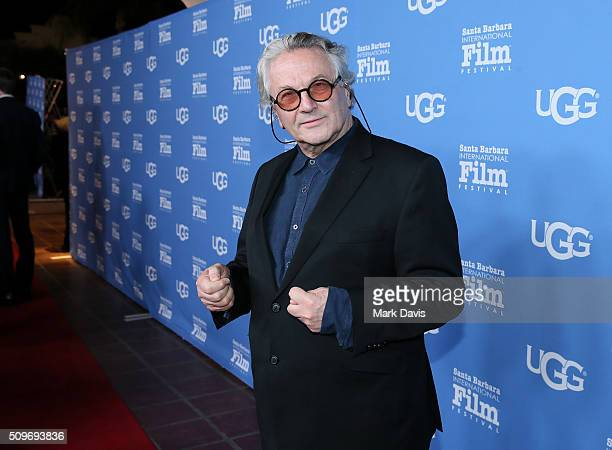Director George Miller attends the Outstanding Directors Awards at the Arlington Theater during the 31st Santa Barbara International Film Festival on...