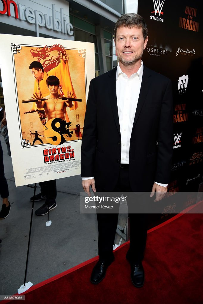 Director George Nolfi attends the Los Angeles special screening of Birth of the Dragon at ArcLight Cinemas on August 17, 2017 in Hollywood, California.