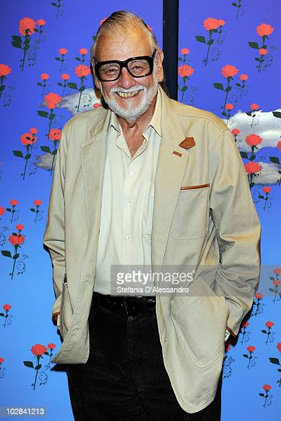Director George Romero attends La Milanesiana held at Teatro Dal Verme on July 12 2010 in Milan Italy