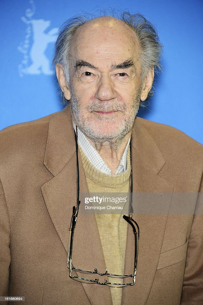 Director <a gi-track='captionPersonalityLinkClicked' href=/galleries/search?phrase=George+Sluizer&family=editorial&specificpeople=8545874 ng-click='$event.stopPropagation()'>George Sluizer</a> attends the 'Dark Blood' Photocall during the 63rd Berlinale International Film Festival at the Grand Hyatt Hotel on February 14, 2013 in Berlin, Germany.