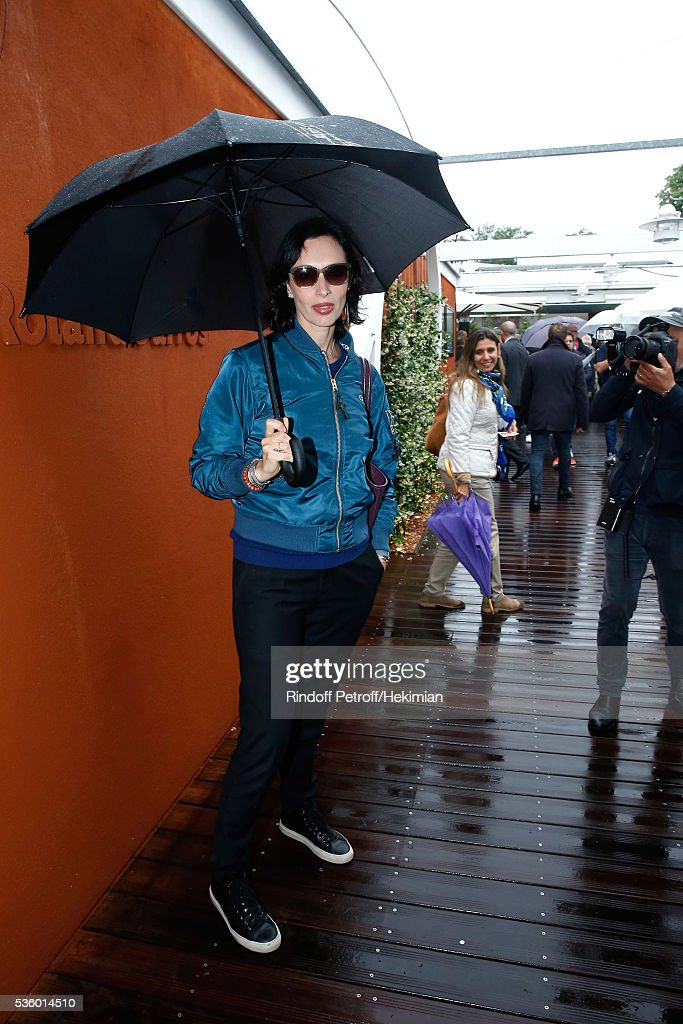 Director Geraldine Maillet attends Day Ten of the 2016 French Tennis Open at Roland Garros on May 31, 2016 in Paris, France.