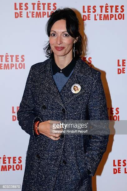 Director Geraldine Maillet attends 'Les Tetes de l''Emploi' Paris Premiere at Cinema Gaumont Opera Capucines on November 14 2016 in Paris France