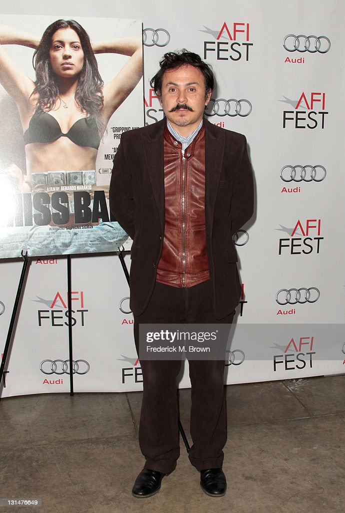 Director Gerardo Naranjo arrives at the 'Miss Bala' Centerpiece Gala during AFI FEST 2011 presented by Audi at the Egyptian Theatre on November 4, 2011 in Hollywood, California.