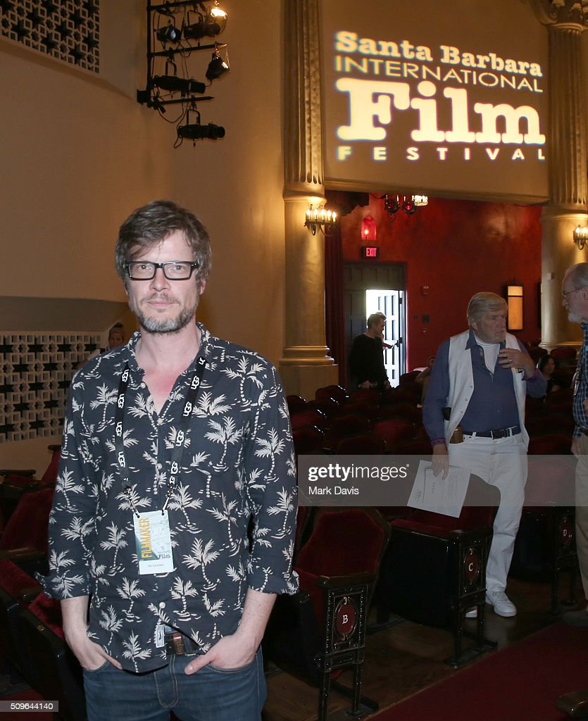 Director Gerd Schneider attends 'The Culpable' Q&A at the Lobero during the 31st Santa Barbara International Film Festival on February 11, 2016 in Santa Barbara, California.