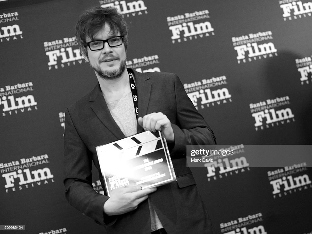 Director Gerd Schneider of 'The Culpable' receives the Audience Choice Award at the Awards Breakfast at the Fess Parker during the 31st Santa Barbara International Film Festival on February 13, 2016 in Santa Barbara, California.