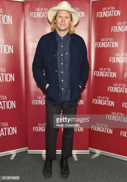 Director Geremy Jasper attends SAGAFTRA Foundation's Conversations with 'Patti Cake$' at SAGAFTRA Foundation Screening Room on July 11 2017 in Los...